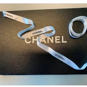 Authentic Chanel Satin Ribbon- Approx. 50 In Long